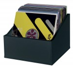 Glorious Record Box Advanced 110 LP Black - Stand for vinyls