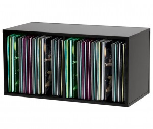 Glorious 230 LP black -  stand for vinyls