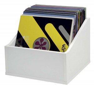 Glorious Record Box Advanced 110 LP White - stand for vinyls