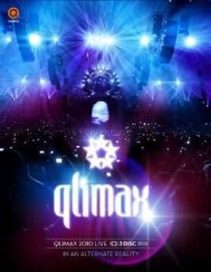 Qlimax 2010 In An Alternate Reality Blu-ray-DVD-CD Używ.