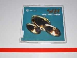 SQ-1 Sequential One One, Two, Three  Maxi-CD Single Używ.