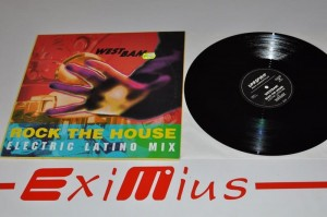WestBam – Rock The House (Electric Latino Mix) 12'' LP Używ.
