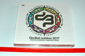 Audiotricz / Angerfist / Adaro - Decibel Outdoor 2017 (The Ultimate Destination - Welcome Travellers) 3xCD Nowa