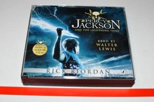 Rick Riordan - Percy Jackson And The Lightning Thief CD Audiobook 3xCD Used