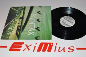"Syntax - Love On Love / Forever 12"" LP Używ."