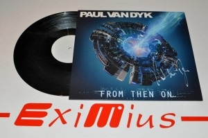 "Paul van Dyk - From Then On 12"" LP Autograf Nowa"