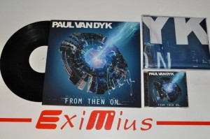 Paul van Dyk ‎– From Then On 12 LP + CD + flaga Deluxe Edition AUTOGRAF