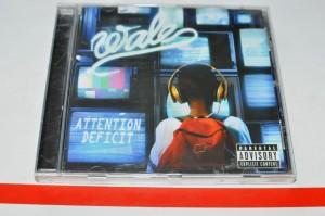 Wale - Attention Deficit CD Album Used