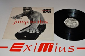 "B.G. The Prince Of Rap - Jump To This (Allnight!) 12"" LP Używ."
