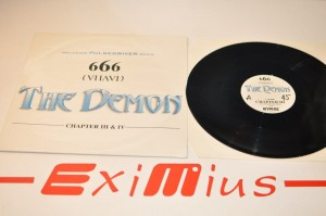 "666 - The Demon 12"" LP Używ."