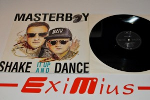 "Masterboy - Shake It Up And Dance 12"" LP Używ."