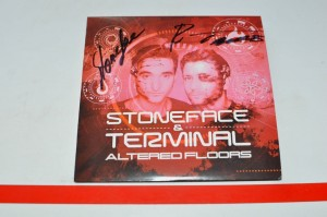 Stoneface & Terminal - Altered Floors CD Album Używ.