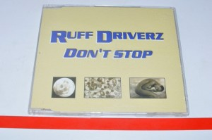 Ruff Driverz - Don't Stop Maxi CD Used