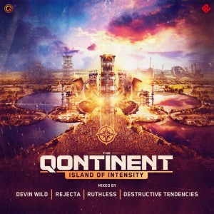 The Qontinent 2019  Mixed by Devin Wild / Rejecta / Ruthless / Destructive Tedencies 4xCD Nowe