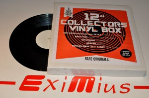 "12"" Collectors Vinyl Box LP7  5x12'' LP New"