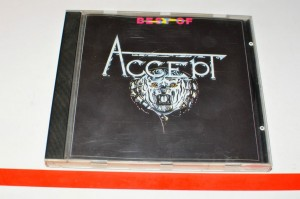 Accept ‎– Best Of Accept CD Used