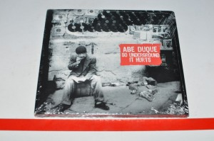 Abe Duque - So Underground It Hurts CD Nowa