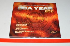 Goa Year 2011 Vol. 1 2xCD Używ.