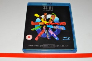 Depeche Mode - Tour Of The Universe : Barcelona 20/21.11.09 2xBlu Ray Used