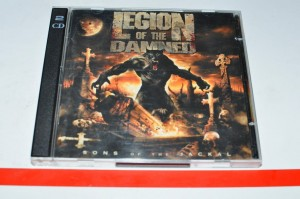 Legion Of The Damned - Sons Of The Jackal CD +DVD Album Used