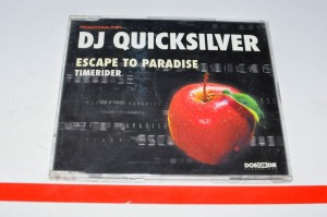 DJ Quicksilver - Escape To Paradise / Timerider Maxi CD Używ.