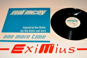 "Real McCoy - One More Time Remixed Vol. 2 12""LP Vinyl Used"