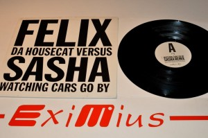 "Felix Da Housecat Versus Sasha - Watching Cars Go By 12""LP Winyl Używ."