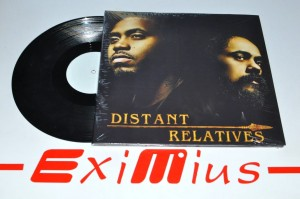 "Nas & Damian Marley - Distant Relatives 2x12""LP Winyl Nowy"