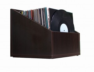 Stand Case Record Box 120 EXIMIUS laminated board VENGE WOOD