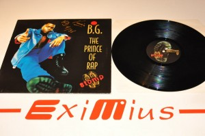 "B.G. The Prince Of Rap - Stomp 12""LP Winyl Używ."