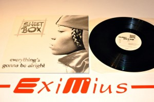 "Sweet Box - Everything's Gonna Be Alright 12""LP Winyl Używ."