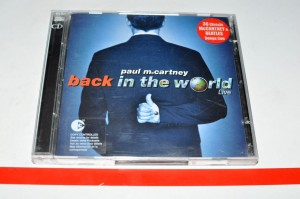 Paul McCartney - Back In The World Live 2xCD Album Used