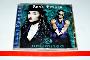 2 Unlimited ‎- Real Things CD Album Used