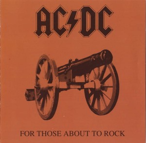 AC/DC - For Those About To Rock We Salute You CD Album Używ.