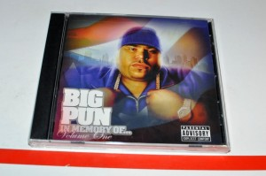 Big Pun - In Memory Of... Volume 1 CD Album Nowa