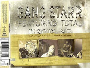 Gang Starr Feat. Total - Discipline Maxi CD Nowa
