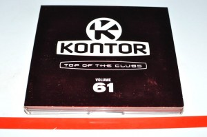 Kontor - Top Of The Clubs Volume 61 3xCD Used