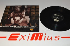 "Naughty By Nature - Mourn You Til I Join You 12""LP Winyl Używ."