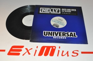 "Nelly Feat. Tim McGraw - Over And Over 12""LP Winyl Nowa"
