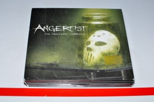 Angerfist - The Deadfaced Dimension 3xCD Used