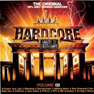 Hardcore Made In Germany - Volume 02 - The Original - 110% Only German Hardcore 2xCD Used