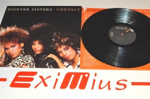 "Pointer Sisters - Contact 12"" LP Winyl Używ."
