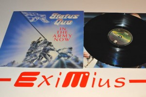"Status Quo - In The  Army Now 12"" LP Winyl Używ."