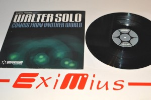 "DJ Astrid Presents: Walter Solo - Coming From Another World 12"" LP Winyl Używ."
