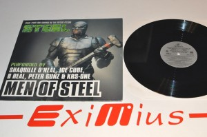 "Shaquille O'Neal, Ice Cube, B Real, Peter Gunz & KRS-One - Men Of Steel 12"" LP Winyl Używ."
