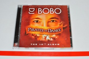 DJ BoBo - Pirates Of Dance (Premium Edition With Bonus DVD) CD + DVD ALBUM Używ.
