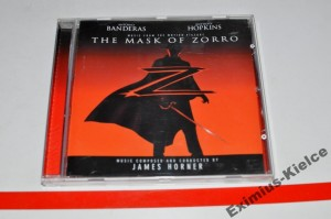 James Horner – The Mask Of Zorro (Music From The Motion Picture) CD ALBUM Używ.