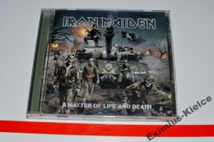 Iron Maiden - A Matter Of Life And Death CD ALBUM
