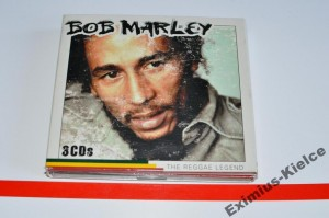 Bob Marley – The Reggae Legend 3xCD 3XCD Używ