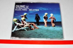 Dune Featuring Vanessa - Electric Heaven Maxi CD Używ.